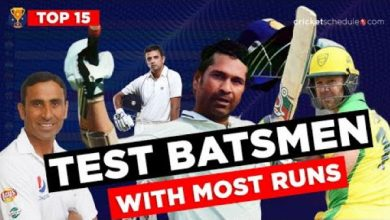 Photo of Top 15 Batsmen Ranked by MOST RUNS scored in Test Cricket (1971-2020)
