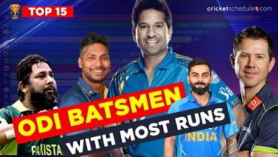 Photo of Top 15 Batsmen Ranked by MOST ODI RUNS (1971-2020)