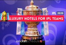 Photo of IPL Teams Scheduled to Stay in Luxury Hotels | IPL 2020 UAE