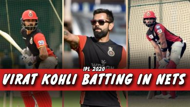Photo of IPL 2020: Virat Kohli Batting Practice in Nets with RCB Team