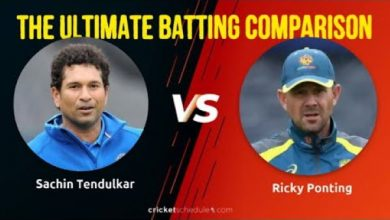 Photo of Sachin Tendulkar vs Ricky Ponting – The Ultimate Batting Comparison