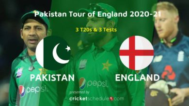 Photo of Watch PAK vs ENG 2020 Series Schedule, Squads & Stats