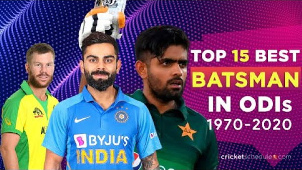 Photo of Top 15 Batsmen Ranked By ODI ICC Rankings (1972 – 2019)