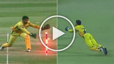 Photo of IPL 2020, KKR Vs CSK: MS Dhoni Continues To Defy Age, Watch Sensational Catch – VIDEO