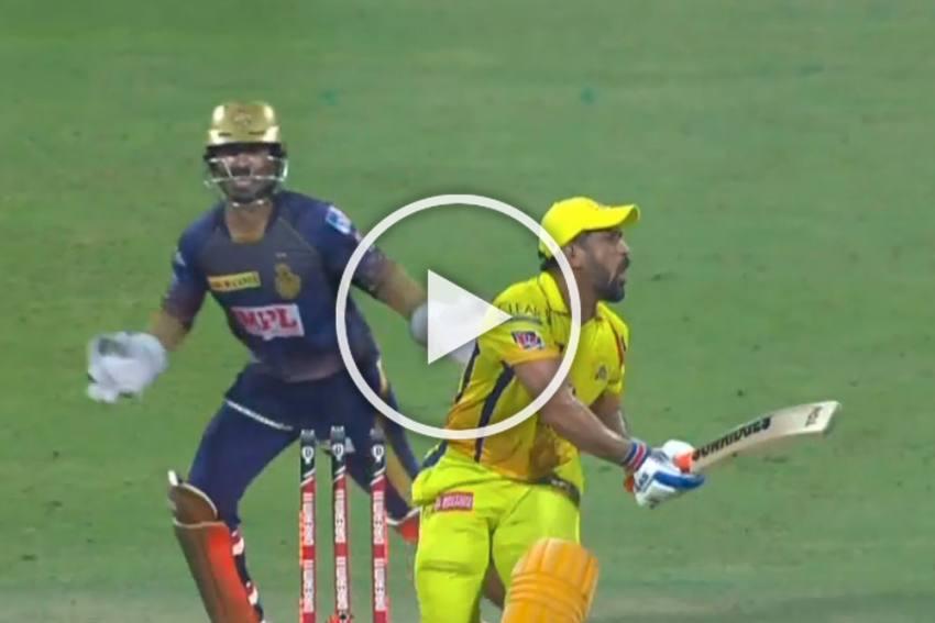 Varun Chakravarthy perfect response to MS Dhoni - IPL 2020 Highlights of KKR vs CSK