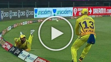 Photo of IPL 2020, KKR Vs CSK: Ravindra Jadeja, Faf Du Plessis Pull Off Most Stunning Catch – WATCH