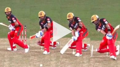 Photo of IPL 2020, CSK Vs RCB: Prowling Virat Kohli Manufactures AB De Villiers Shot With Utmost Ease – WATCH
