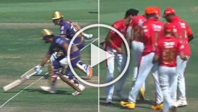 Photo of IPL 2020: Laugh Riot As KKR Batsmen Nitish Rana, Shubman Gill Run Towards Same End – WATCH