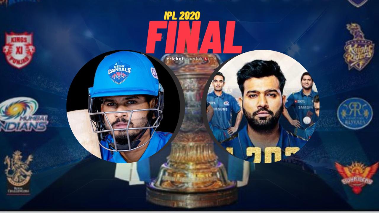 Photo of IPL 2020 Final – Delhi vs Mumbai LIVE Stream – DC vs MI LIVE