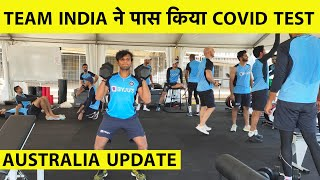 Photo of Indian Cricket Team Clears COVID-19 Test, Starts Physical Training in Australia
