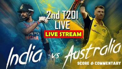 India vs Australia ODI series live stream