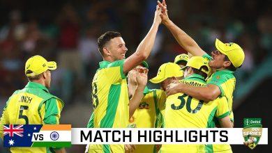 Australia vs India 2nd ODI highlights online