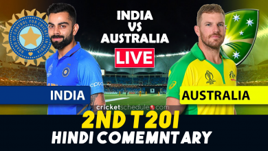 India vs Australia 2nd ODI Live Stream