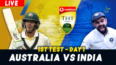 India vs Australia 1st Test Match Live Stream Online