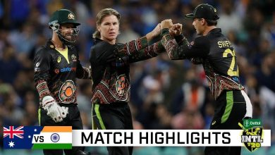 Australia vs India 3rd T20 Highlights