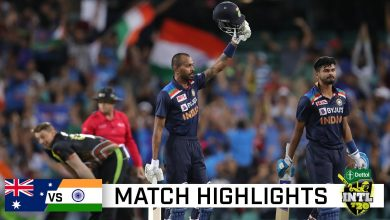 Australia vs India 2nd T20 Highlights 2020