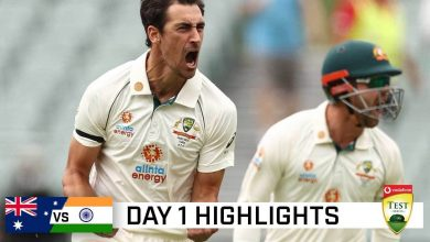 India vs Australia 1st Test Day 1 Highlights
